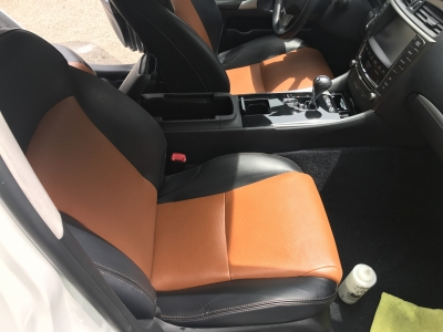 Leather cleaning and conditioning