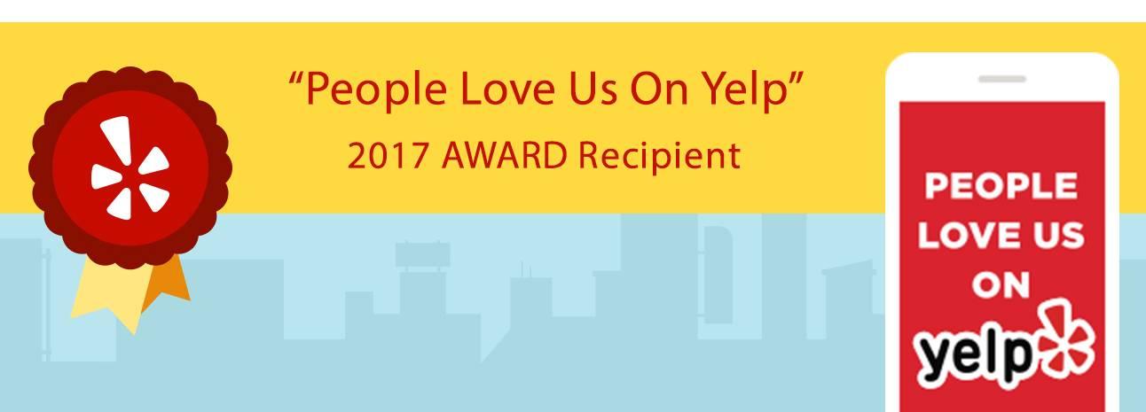 2017 Yelp Award Recipient