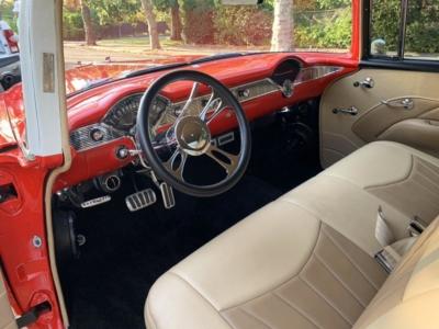 Interior detail classic cars